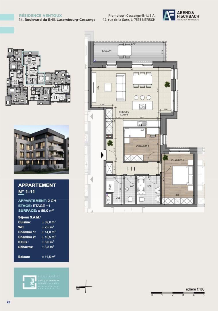 Apartment To Sell In Luxembourg Cessange 84 77 M 975 982
